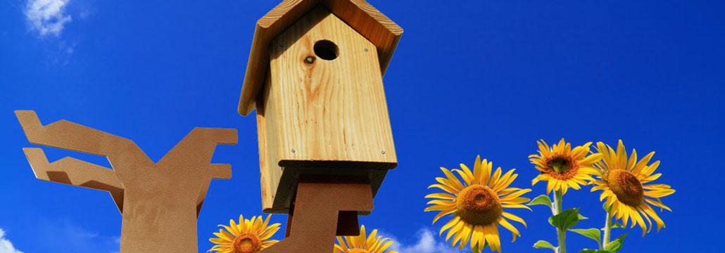 Vogelboomhut van Maandag meubels