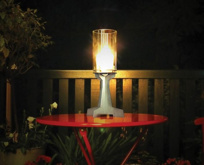 Kandelaar Tafel bij nacht